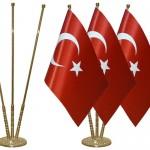 Türk masa bayrağı